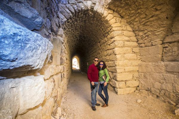 Interior Castillo Karak