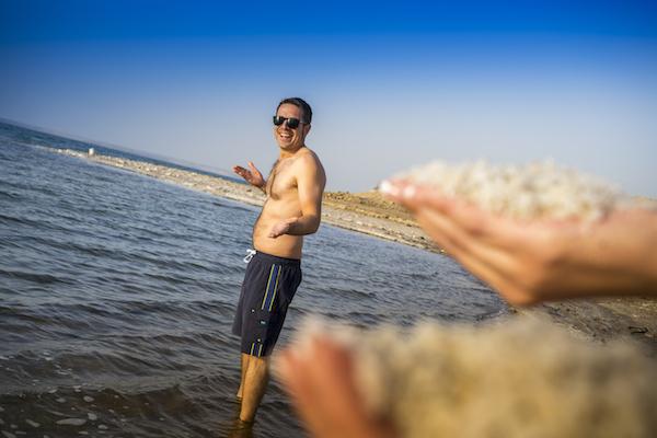 Mar Muerto.