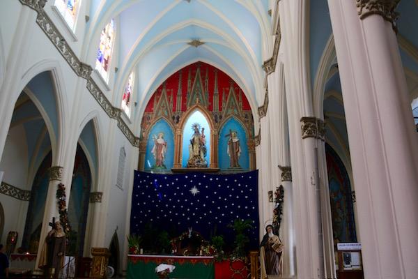 Altar Iglesia del Carmen