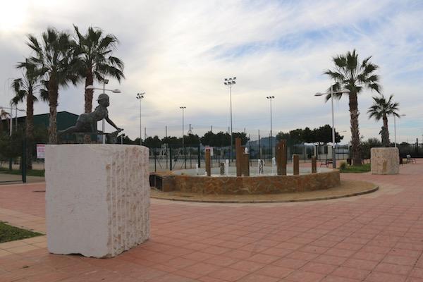 Fuente Parque Periurbano Blas Infante