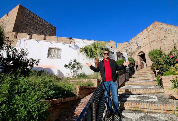 Acceso Castillo Salobreña