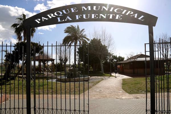 Entrada Parque Municipal La Fuente