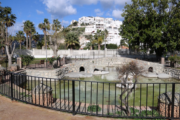 Interior Parque Municipal La Fuente