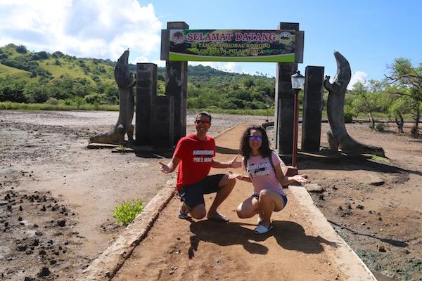 Entrada Parque Nacional Komodo