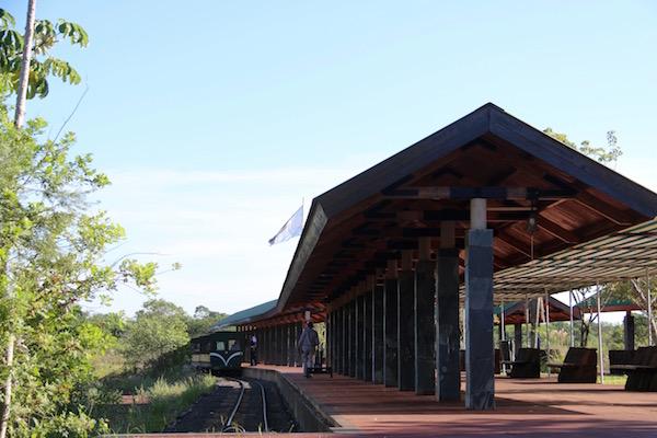Estación tren Parque Nacional Cataratas Iguazú