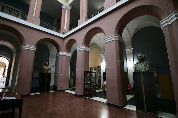 Interior Facultad Derecho y Ciencias Sociales