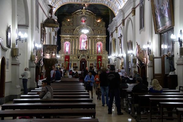 Interior Iglesia Catedral Basílica