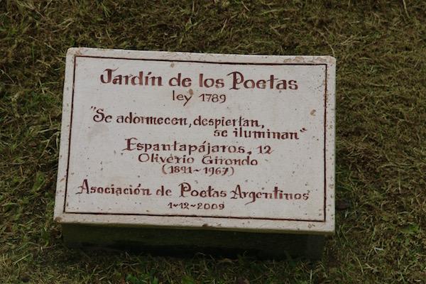 Jardín de los Poetas
