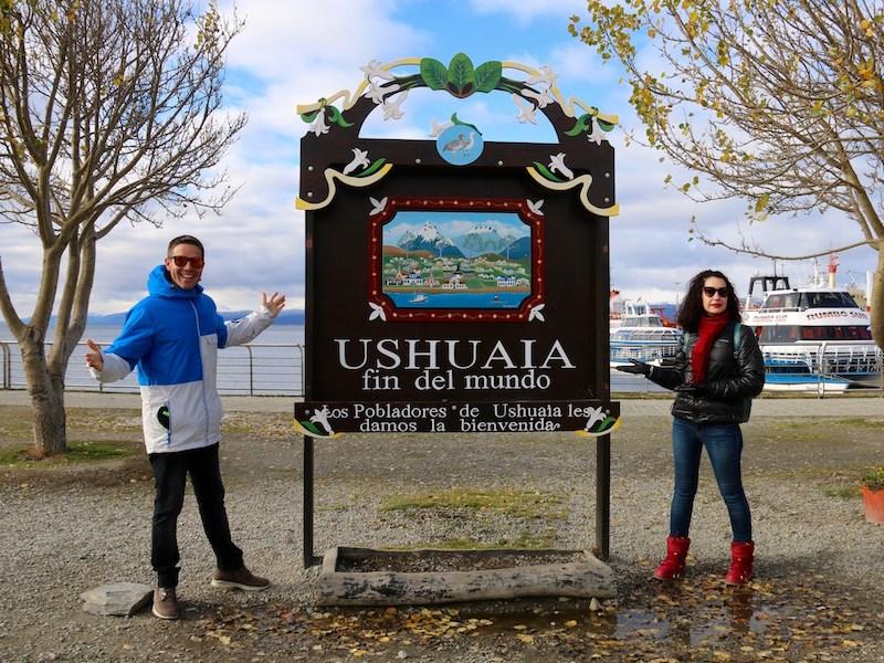Letrero Ushuaia