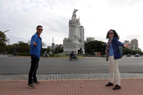 Monumento Carta Magna y a las Cuatro Regiones Argentinas