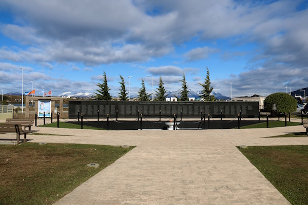 Monumento caídos Malvinas