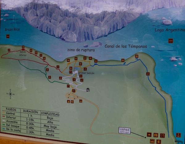 Rutas Parque Nacional Los Glaciares