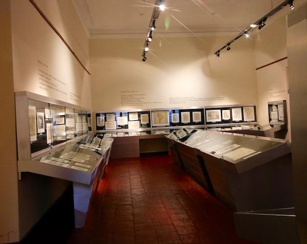 Sala Museo Historía UNC.