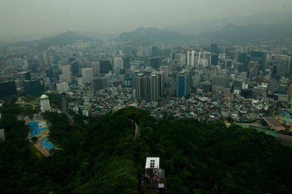 Vistas Panorámicas Torre N Seúl