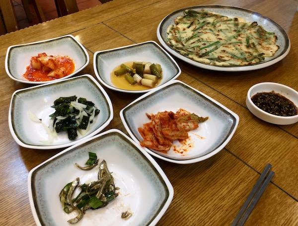 Entrantes Coreanos