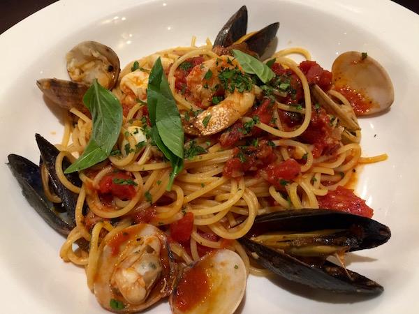 Espagueti Fruto Mar