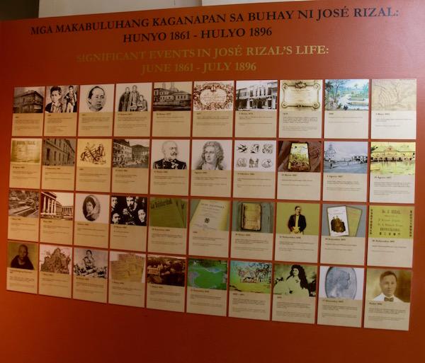 Exposición Museo Santuario Rizal