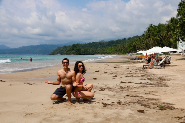 Playas Sabang.