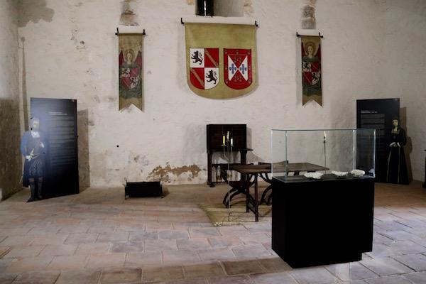 Sala Interior Castillo Santa Catalina