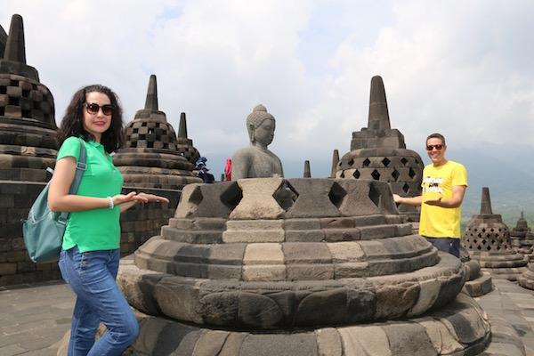 Budas templo Borobudur