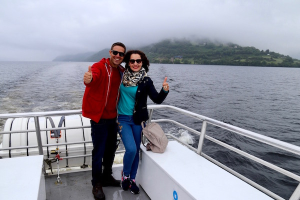 Catamaran Lago Ness