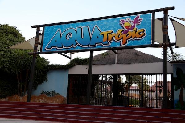 Entrada Parque Aquatropic