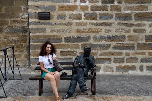 Escultura Antonio Machado