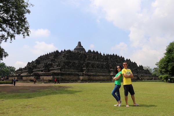 Imagen templo Borobudur