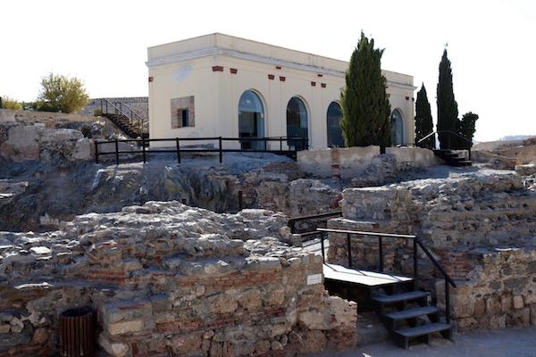 Interior Castillo San Miguel