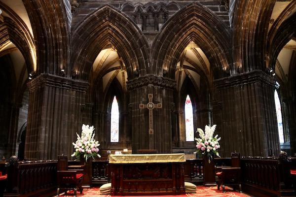 Interior Catedral de Glasgow