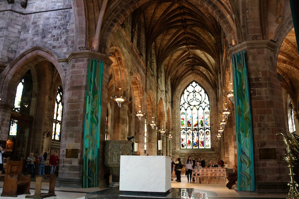 Interior catedral St Giles
