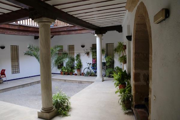 Patio Casa de los Morales