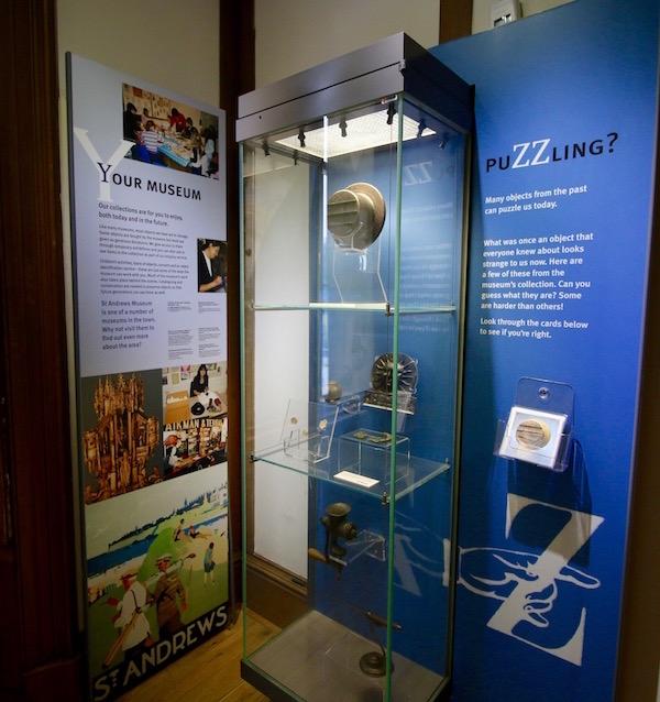 Sala Museo de la Universidad St. Andrews