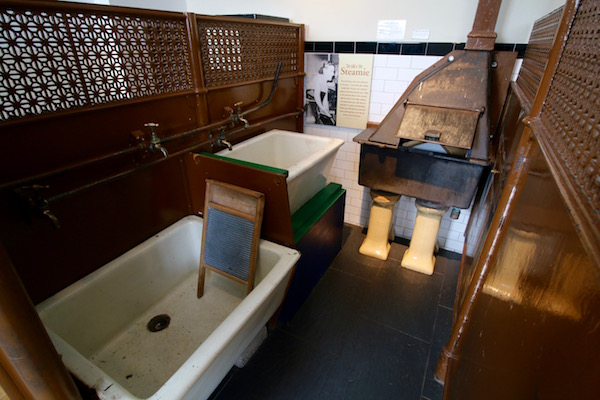 Sala museo historia social Glasgow
