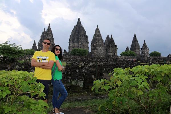 Templo Prambanan.