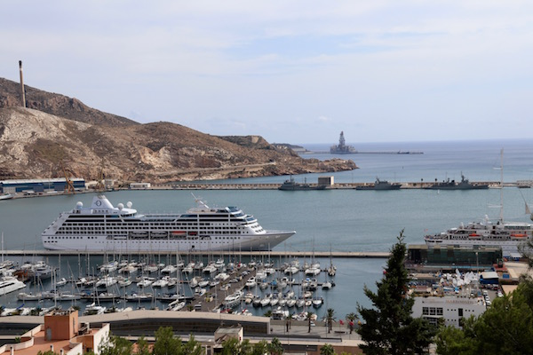 Vistas Puerto Cartagena