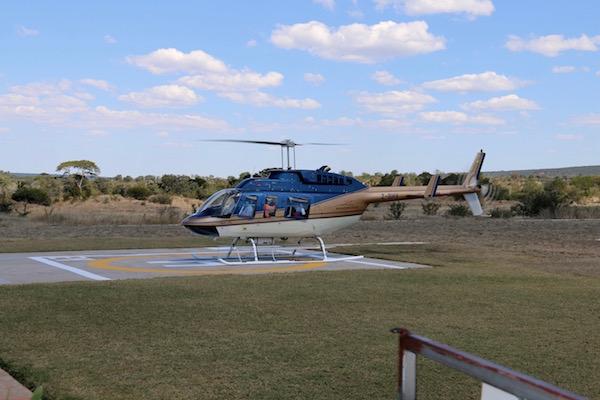 helicóptero.