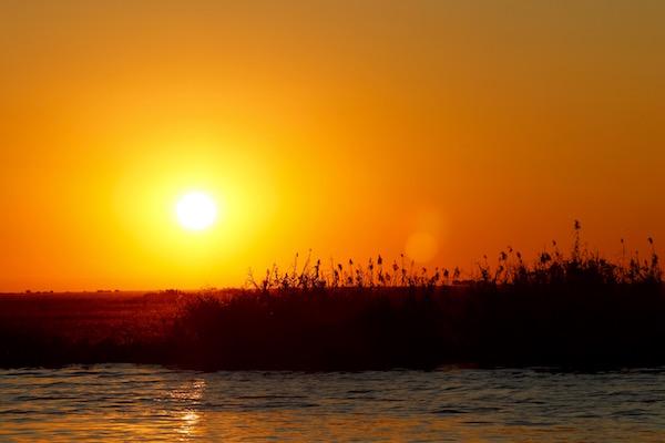 Atardecer Río Chobe