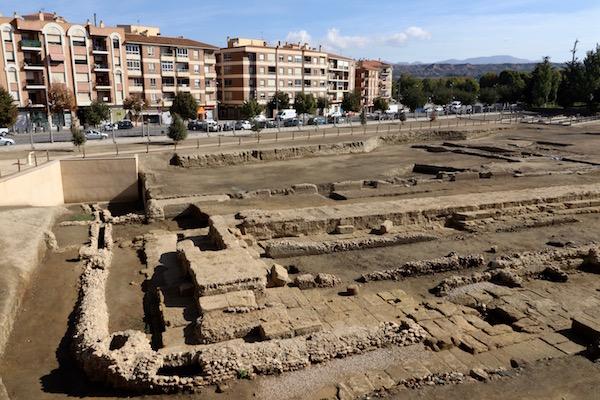 El teatro Romano Acci Guadix.
