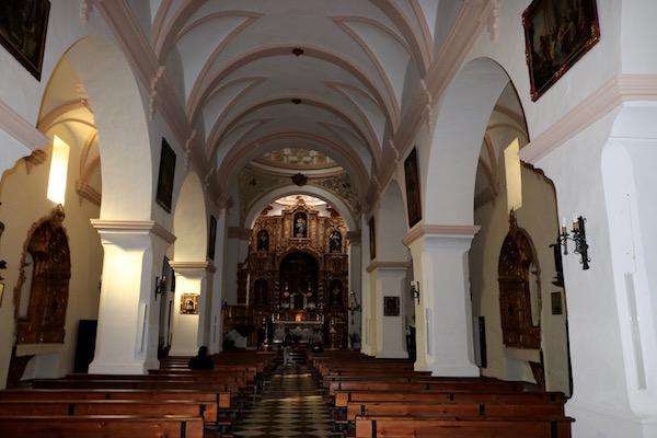 Interior Parroquia Nuestra Señora Expectación