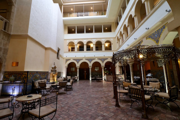 Patio Porticado Palacio de los Mendoza