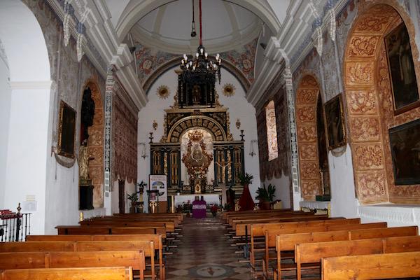 Altar iglesia Parroquial Santiago