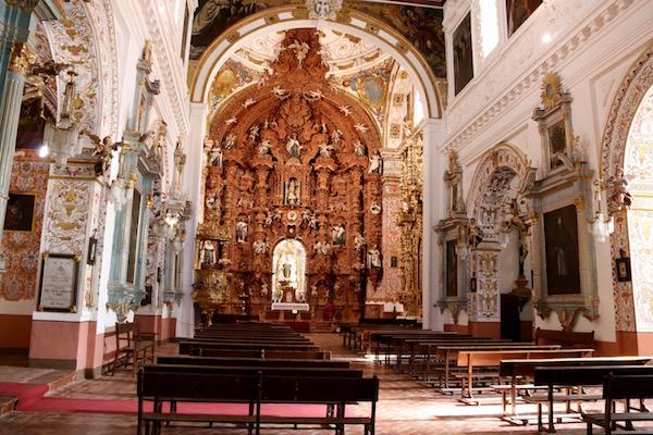 Altar mayor Iglesia del Carmen