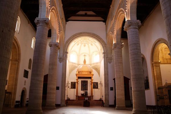 Interior Real Colegiata de Santa María la Mayor