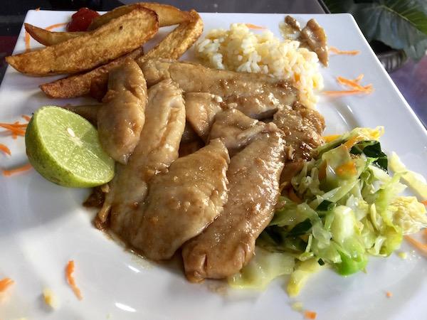 plato pescado