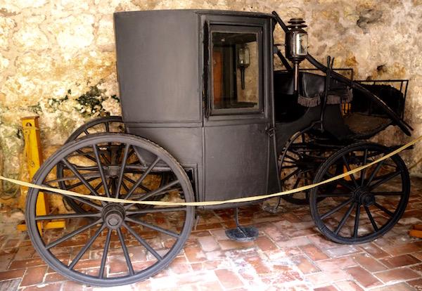 Carruaje Museo Las Casas Reales