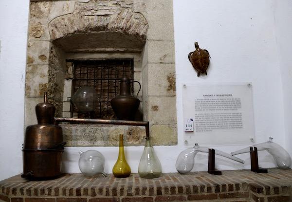 Exposición Sanidad y Farmacología.