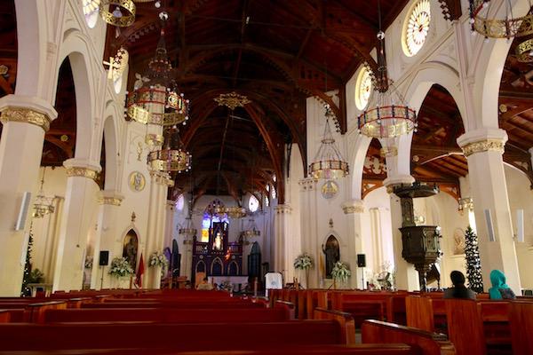 Interior Catedral Inmaculada Concepción