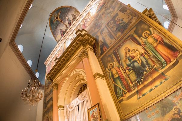 Interior catedral de San Jorge