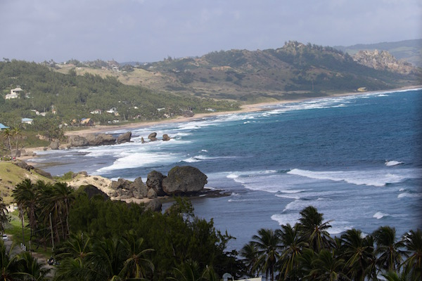 Vistas Playa Bathsheba
